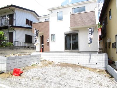 新築分譲住宅!4LDK、4290万円、敷地面積44坪以上!!南道路・全居室南向き!カースペース並列2台!