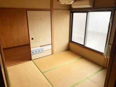 和室がひろがる居住スペースです。