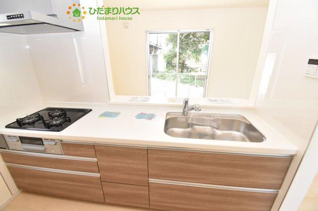【キッチン】北区奈良町 新築一戸建て リーブルガーデン 01