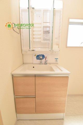 【独立洗面台】北区奈良町 新築一戸建て リーブルガーデン 01