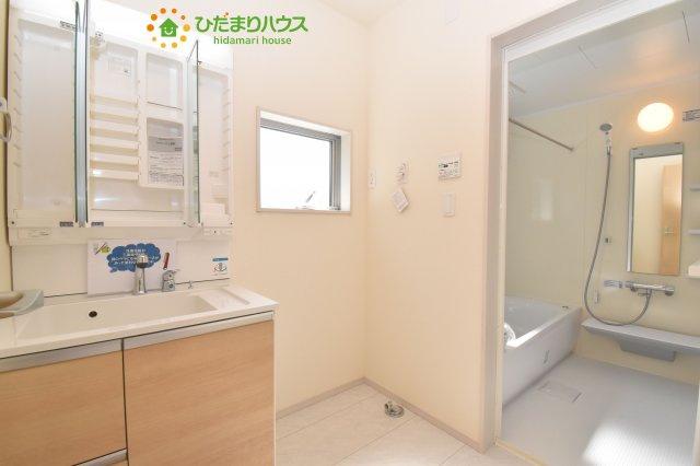 【洗面所】北区奈良町 新築一戸建て リーブルガーデン 01