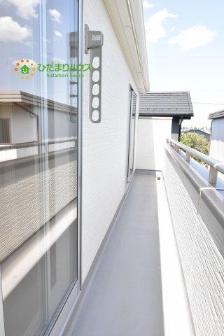 【バルコニー】北区奈良町 新築一戸建て リーブルガーデン 01