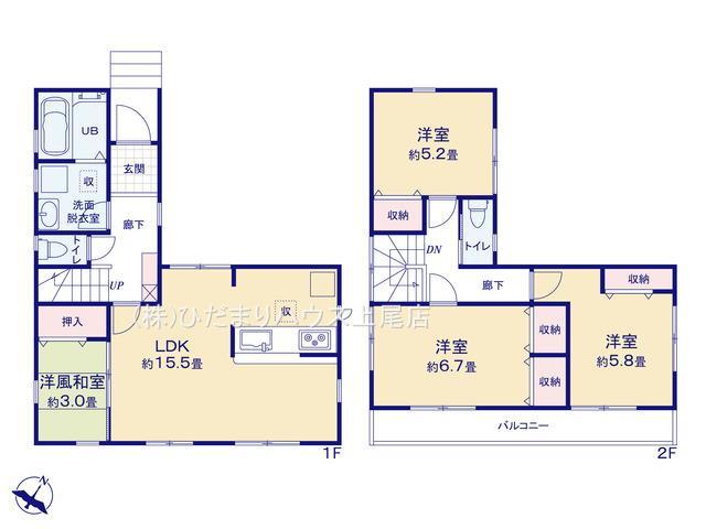 北区奈良町 新築一戸建て リーブルガーデン 01