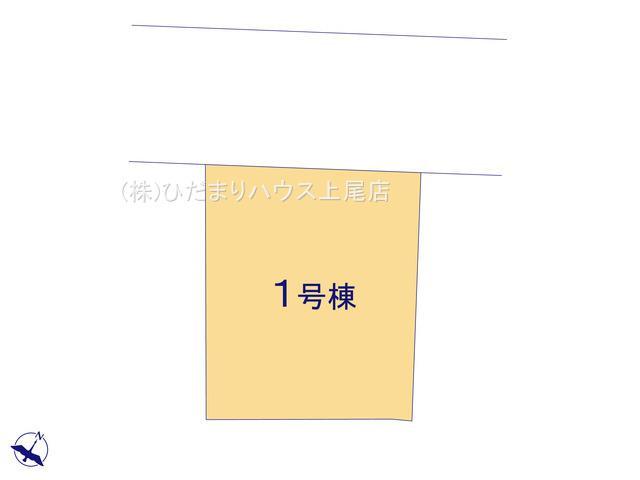 【区画図】北区奈良町 新築一戸建て リーブルガーデン 01