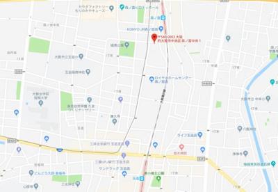 【地図】ポールドジ森ノ宮