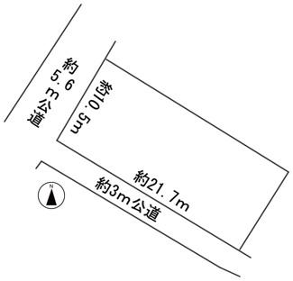 【区画図】56739 羽島郡笠松町八幡町土地