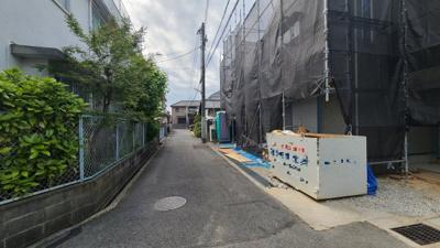 【前面道路含む現地写真】神戸市垂水区星陵台5丁目 新築戸建 2区画