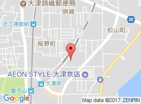 【地図】レイティー西大津1号館