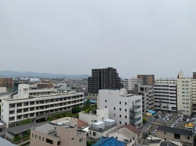 最上階からの眺めです。