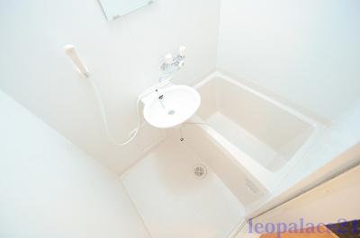 【浴室】レオパレスフジⅡ