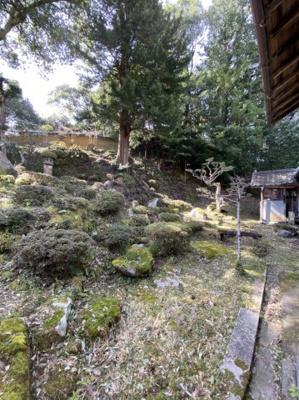 【庭】中古戸建(与謝野町指定有形文化財)