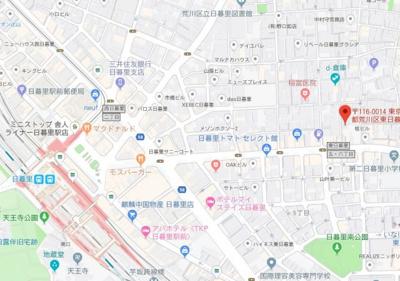 【地図】Felicita Ⅱ(フェリシタ ツー)