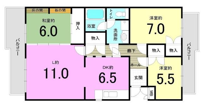 パークハイツ平尾山荘 29棟