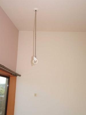 室内物干しを新規設置しました
