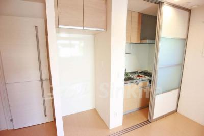 冷蔵庫置きスペース