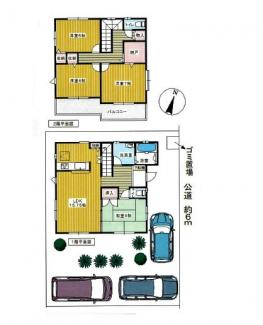 ■4SLDK 建物面積:102.66㎡ 土地面積:150.01㎡ <三郷市泉1丁目 中古戸建>