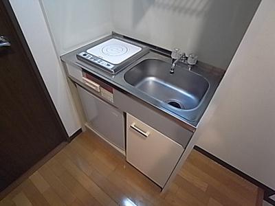 【キッチン】プレステージ三宮