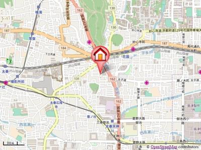 【地図】サンシティM(サンシティエム)