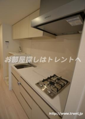 【キッチン】パークリュクス新宿御苑前モノ【mono】