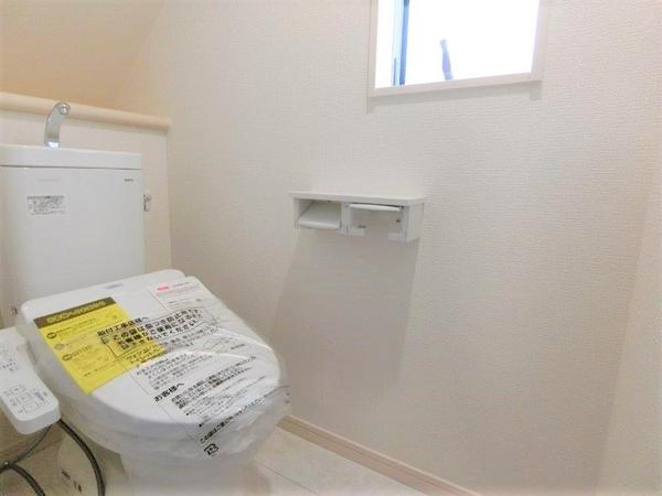 【トイレ】仲介手数料無料 世田谷区千歳台6丁目新築一戸建て分譲住宅