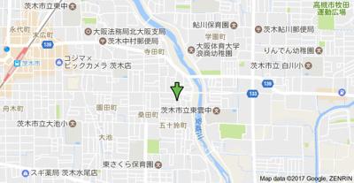 【地図】シティコーポ五十鈴