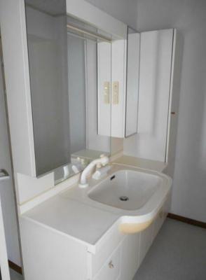 収納が多く使いやすい独立洗面台です※別部屋参考写真