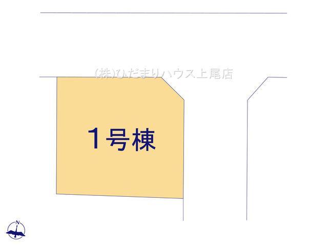 【区画図】北区日進町 20-1期 新築一戸建て リナージュ 01