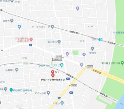 【地図】アンソレイユ