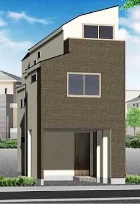【完成予想図】北区志茂3丁目 新築戸建 B号棟 4280万円