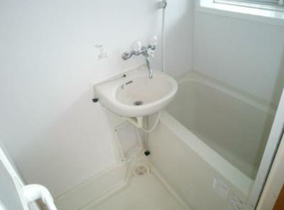 【浴室】グリーンフラット