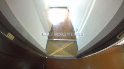 【玄関】メビウス永和レジデンス