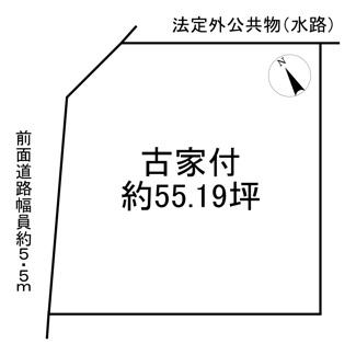 【土地図】野洲市久野部 売土地