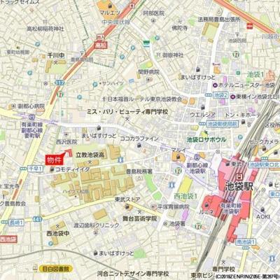 【地図】グリーンパレス