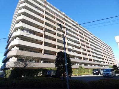 【外観】クレストフォルム平井グランステージ 専用庭付 2002年築