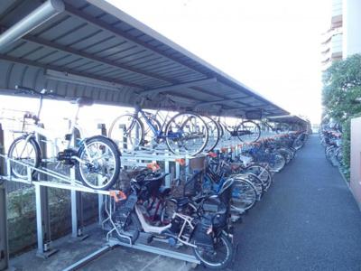 【駐輪場】クレストフォルム平井グランステージ 専用庭付 2002年築