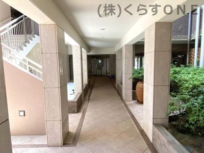 【エントランス】アルファステイツ五軒邸