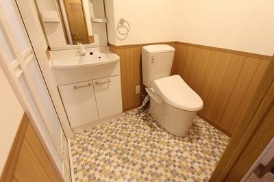 【洗面所】■カーサ・デ・クリサンテモ