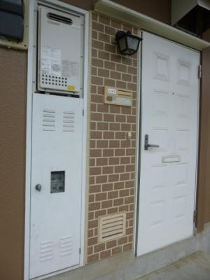 シンプルで使いやすい玄関です。メゾン・ド・ベル