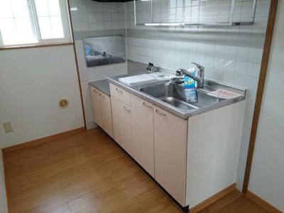 【キッチン】ポワンドゥ花梨Ⅰ