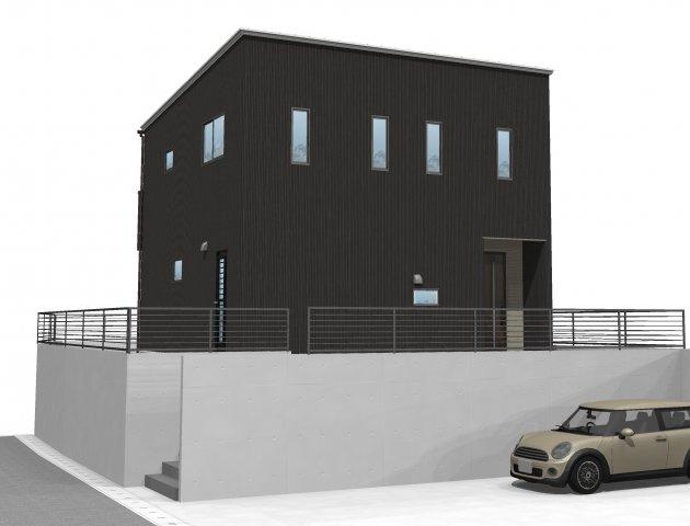 【完成予想図】「アイパッソの家」宇城市松橋町松橋2期B棟モデル