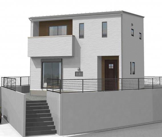 【完成予想図】「アイパッソの家」宇城市松橋町松橋2期A棟モデル