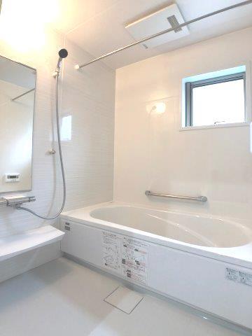 梅雨時期のお洗濯も浴室乾燥機でカラッと乾きます ※同仕様写真