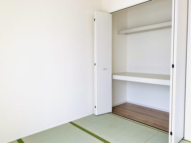 4.5畳押入 開口部が広いのでムダなく利用できます。
