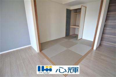 玄関内にも収納部分を多く採用し、スッキリとした広さを確保しております。