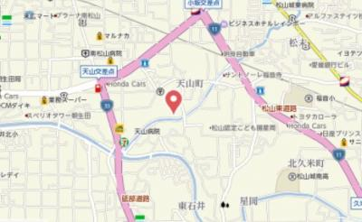 【地図】サンヴェルディ東石井