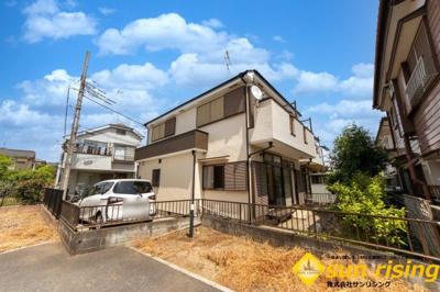 【前面道路含む現地写真】昭島市緑町3丁目 中古戸建