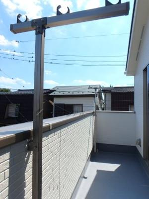 【バルコニー】狭山市広瀬3丁目・全1棟 新築一戸建 1号棟
