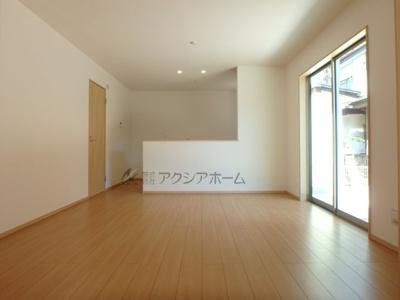 【居間・リビング】狭山市広瀬3丁目・全1棟 新築一戸建 1号棟