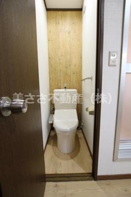【トイレ】シティハイムホシノ