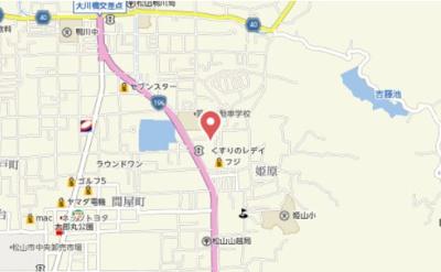 【地図】サントノーレ姫原